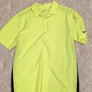 Nike golf polo size medium